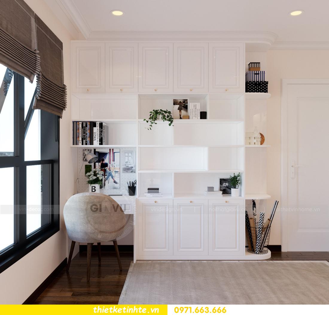 thiết kế nội thất căn hộ Vinhomes Trần Duy Hưng tòa C1 11