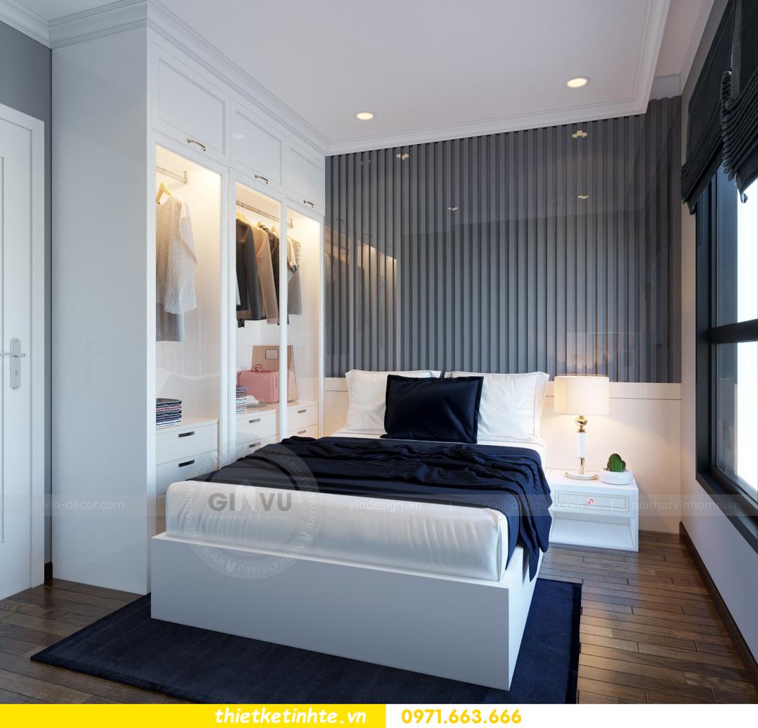 thiết kế nội thất căn hộ Vinhomes Trần Duy Hưng tòa C1 12