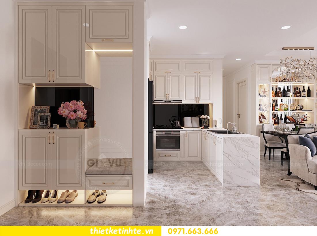 thiết kế nội thất chung cư D Capitale tòa C1 căn hộ 11 nhà anh Thọ 01