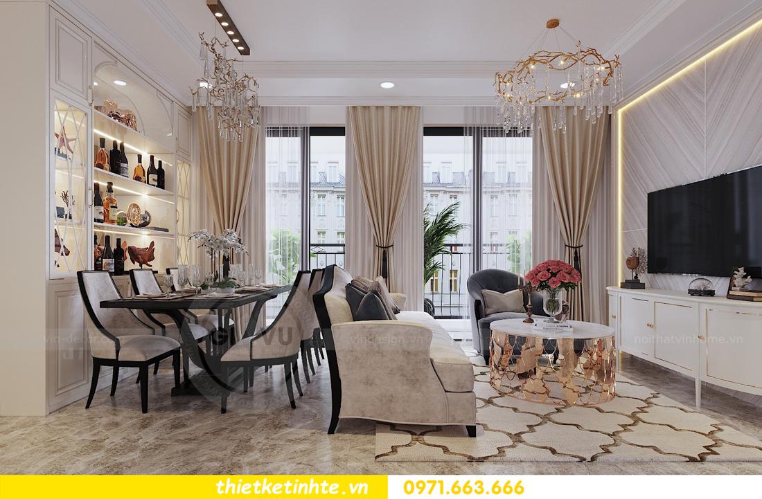 thiết kế nội thất chung cư D Capitale tòa C1 căn hộ 11 nhà anh Thọ 02
