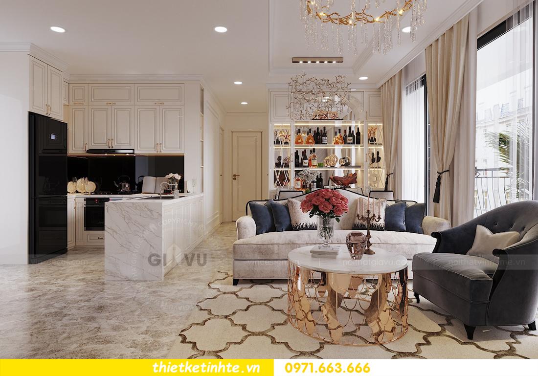 thiết kế nội thất chung cư D Capitale tòa C1 căn hộ 11 nhà anh Thọ 03