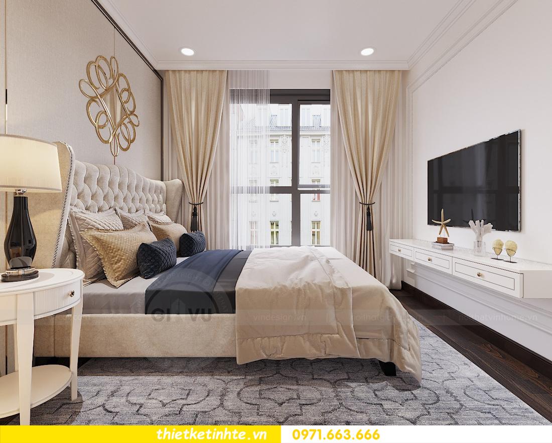 thiết kế nội thất chung cư D Capitale tòa C1 căn hộ 11 nhà anh Thọ 11