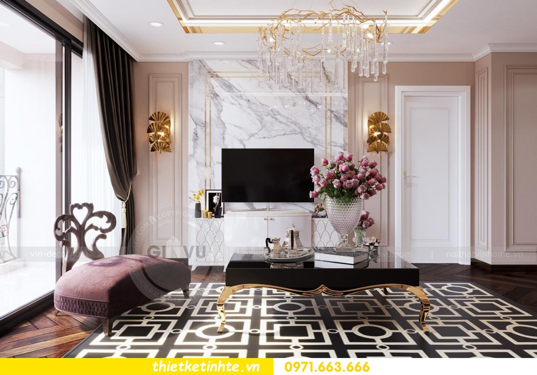 thiết kế nội thất chung cư Sun Grand City Ancora 05