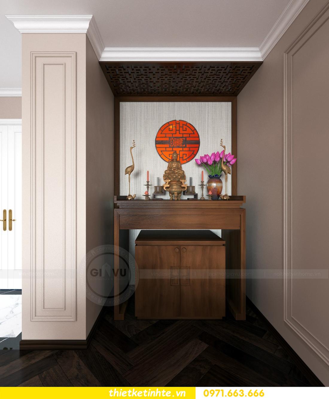 thiết kế nội thất chung cư Sun Grand City Ancora 06