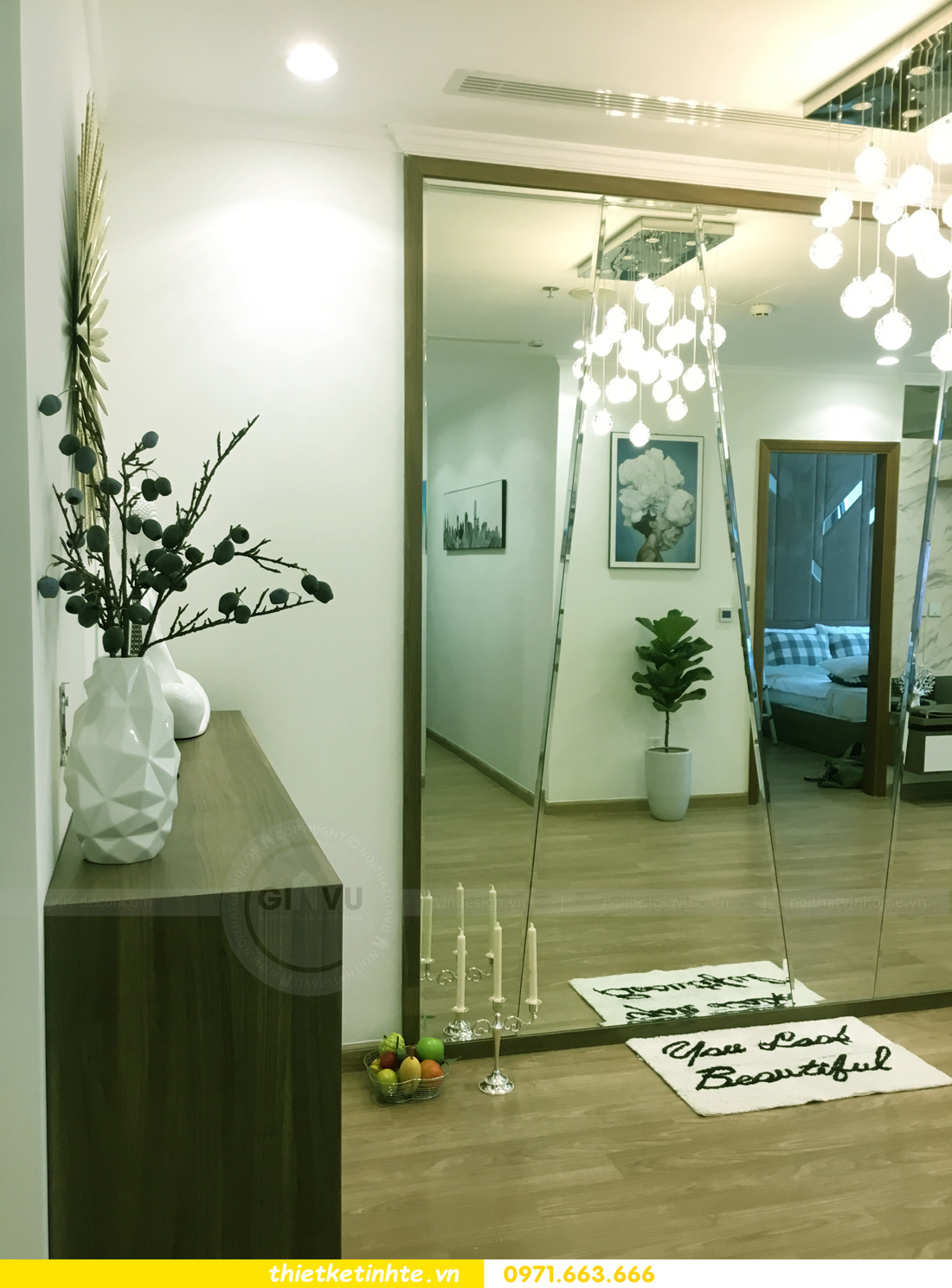 hoàn thiện nội thất chung cư Park Hill P12 căn 21 nhà anh sơn 004