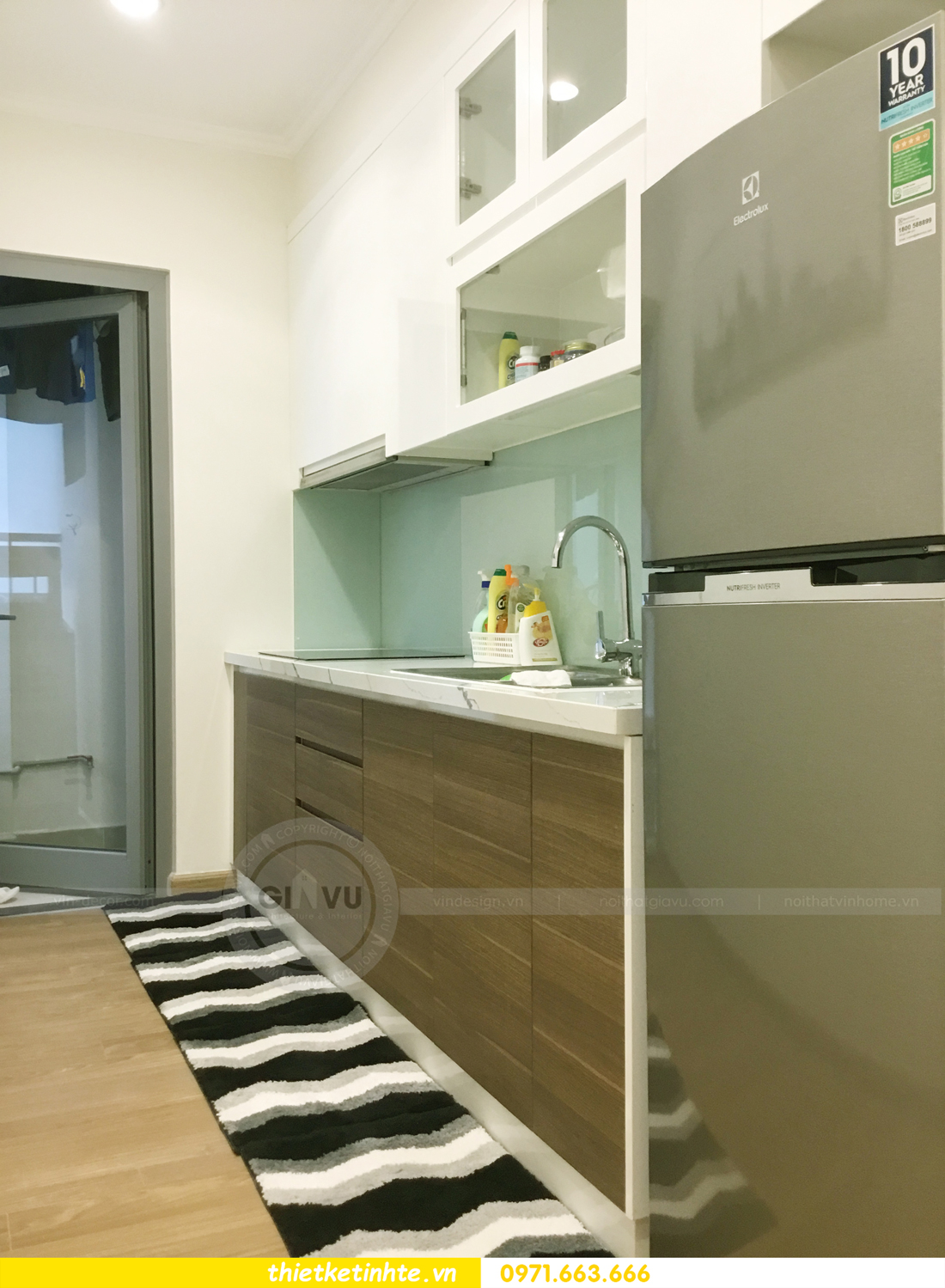 hoàn thiện nội thất chung cư Park Hill P12 căn 21 nhà anh sơn 11