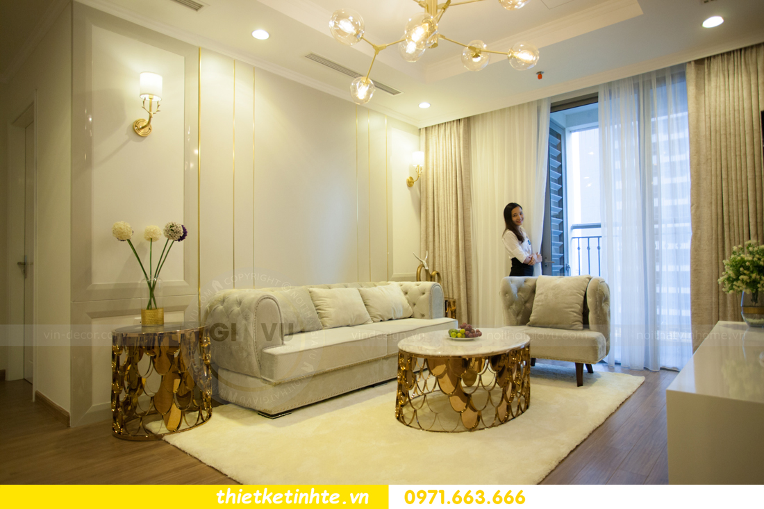 thi công hoàn thiện nội thất chung cư Park Hill 11