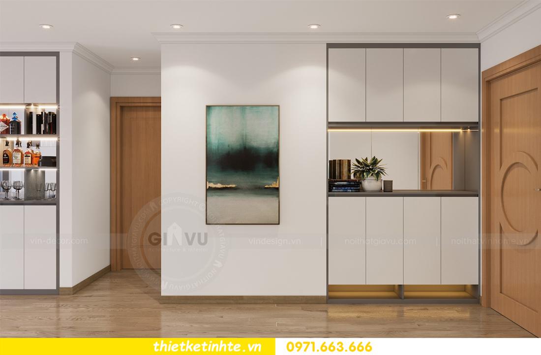 thiết kế nội thất căn hộ Vinhomes Park Hill 8 căn hộ 02 nhà chị Vân 01