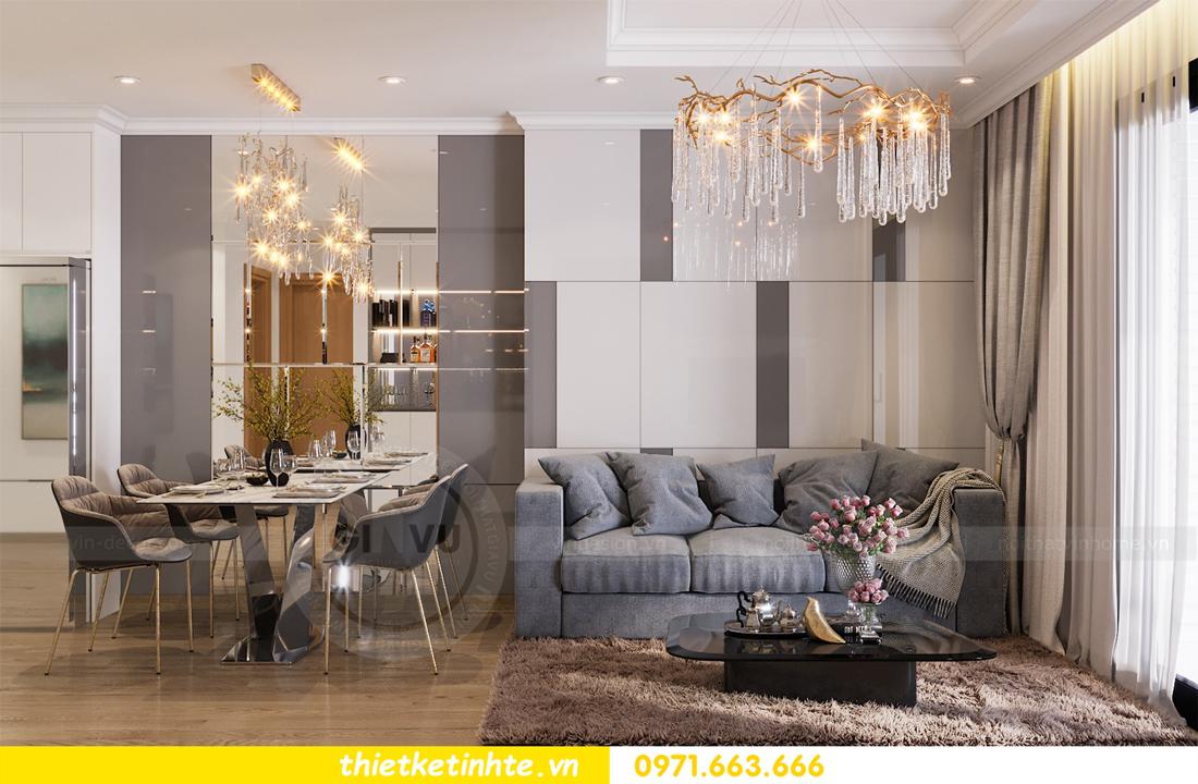 thiết kế nội thất căn hộ Vinhomes Park Hill 8 căn hộ 02 nhà chị Vân 03