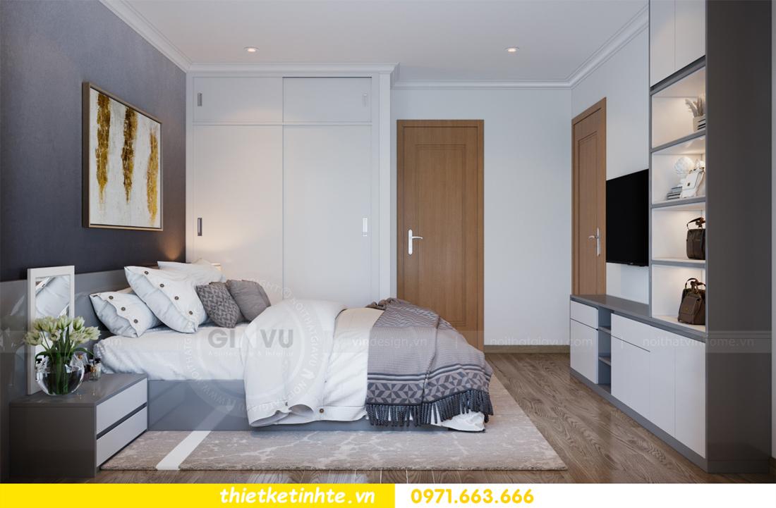 thiết kế nội thất căn hộ Vinhomes Park Hill 8 căn hộ 02 nhà chị Vân 09