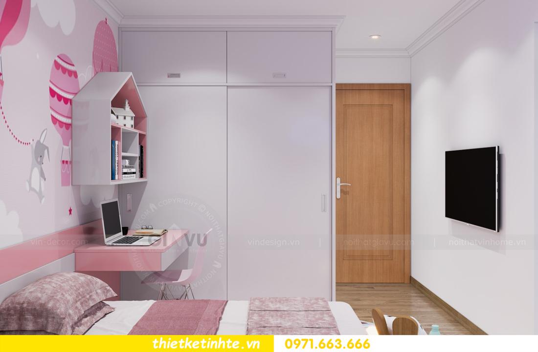 thiết kế nội thất căn hộ Vinhomes Park Hill 8 căn hộ 02 nhà chị Vân 11