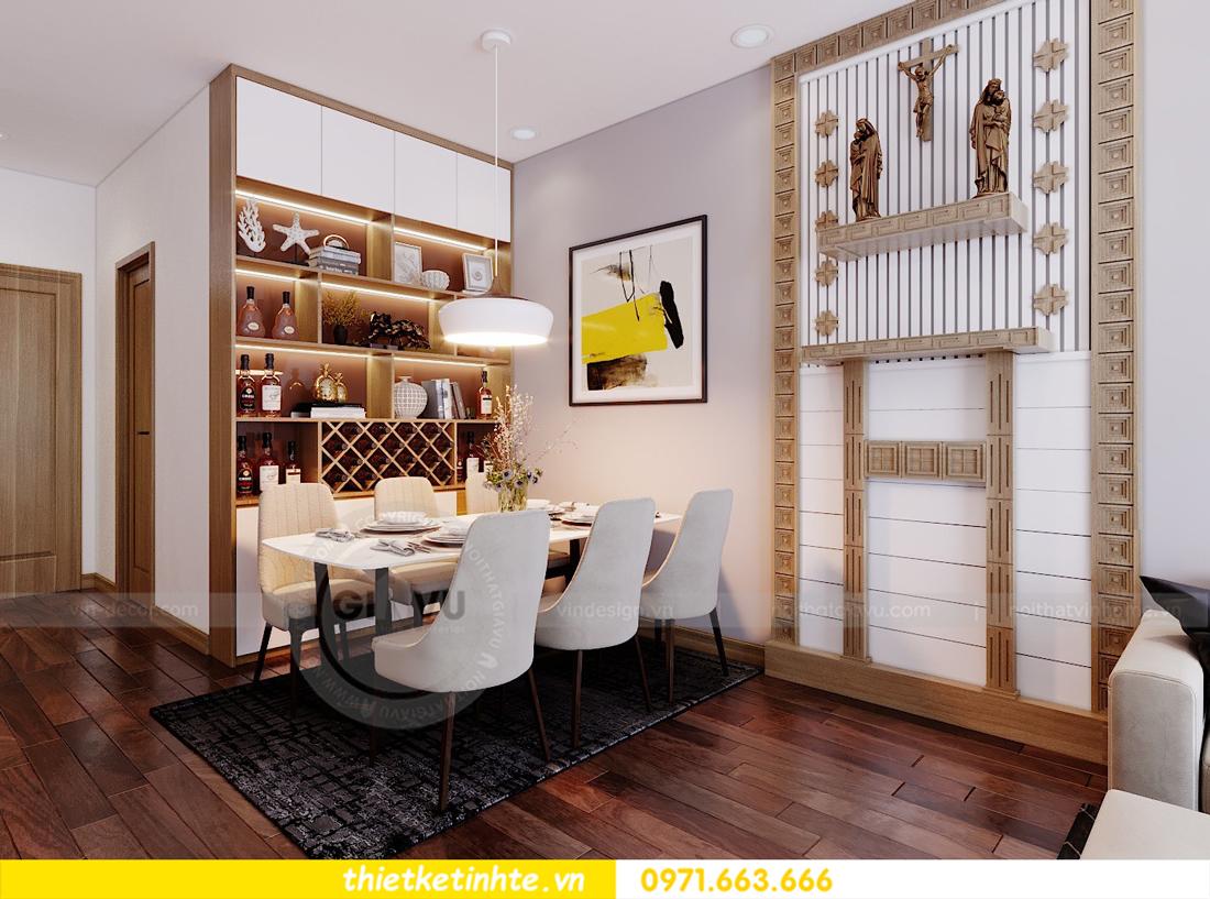 thiết kế nội thất chung cư 789 Ngoại Giao Đoàn 01