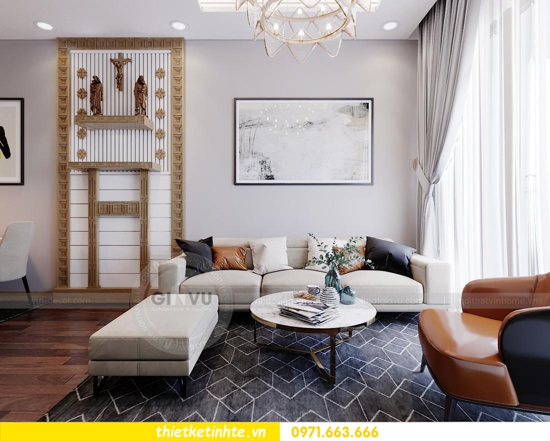 thiết kế nội thất chung cư 789 Ngoại Giao Đoàn 06