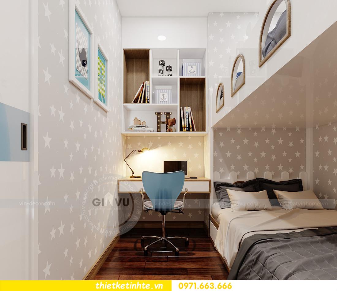thiết kế nội thất chung cư 789 Ngoại Giao Đoàn 10