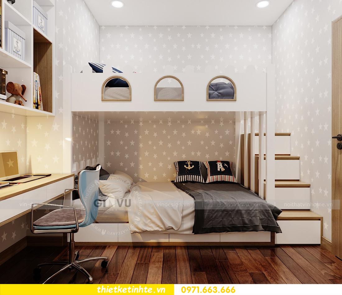 thiết kế nội thất chung cư 789 Ngoại Giao Đoàn 11