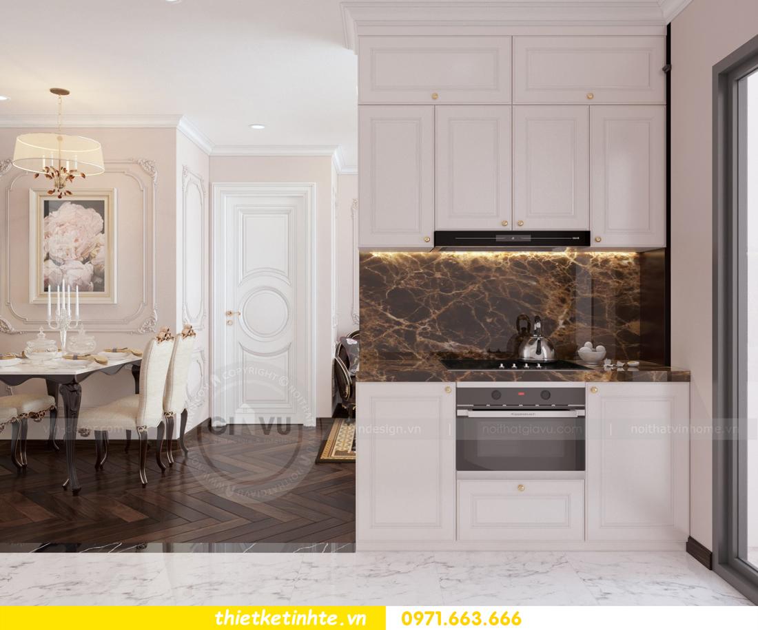 thiết kế nội thất chung cư Green Bay tòa G1 căn hộ 05 nhà chị Lan 01