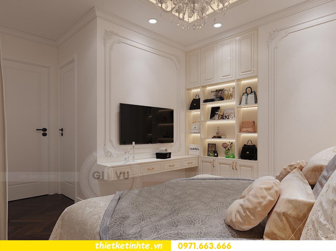 thiết kế nội thất chung cư Green Bay tòa G1 căn hộ 05 nhà chị Lan 09