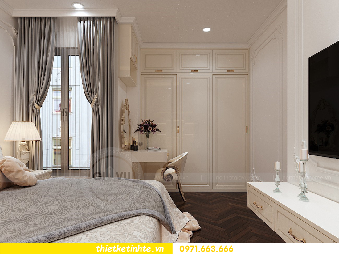thiết kế nội thất chung cư Green Bay tòa G1 căn hộ 05 nhà chị Lan 11