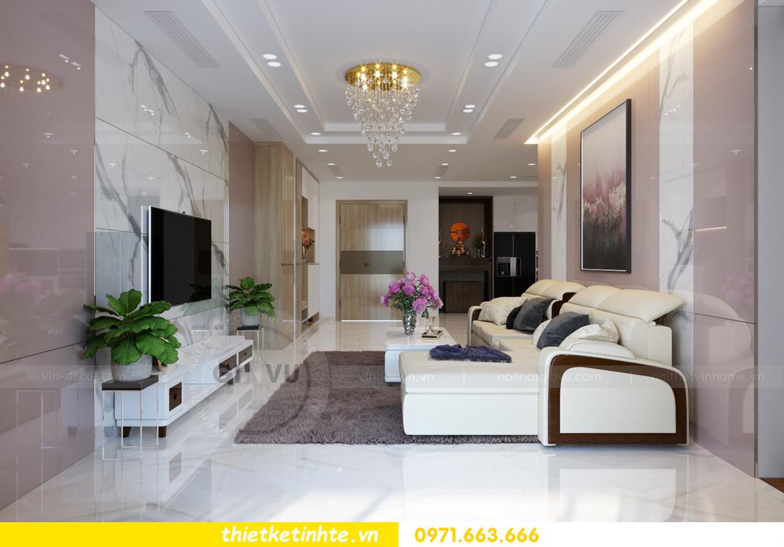thiết kế nội thất chung cư Mandarin Garden căn hộ số 13 nhà anh Kiên 03