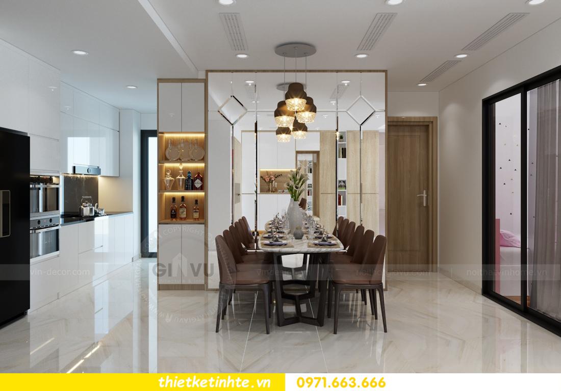 thiết kế nội thất chung cư Mandarin Garden căn hộ số 13 nhà anh Kiên 04