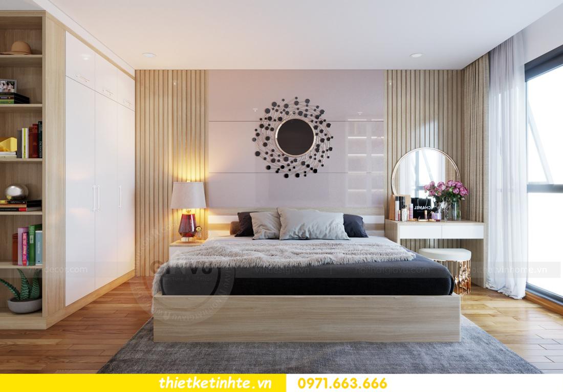 thiết kế nội thất chung cư Mandarin Garden căn hộ số 13 nhà anh Kiên 07