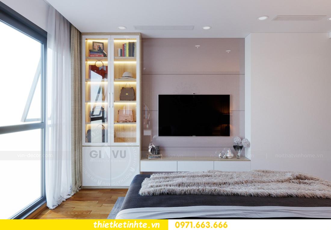 thiết kế nội thất chung cư Mandarin Garden căn hộ số 13 nhà anh Kiên 08