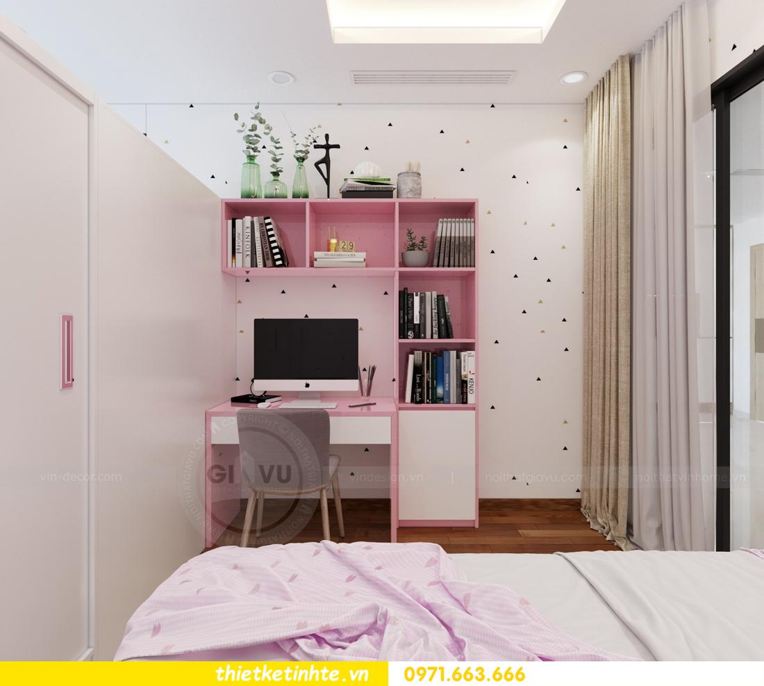 thiết kế nội thất chung cư Mandarin Garden căn hộ số 13 nhà anh Kiên 09