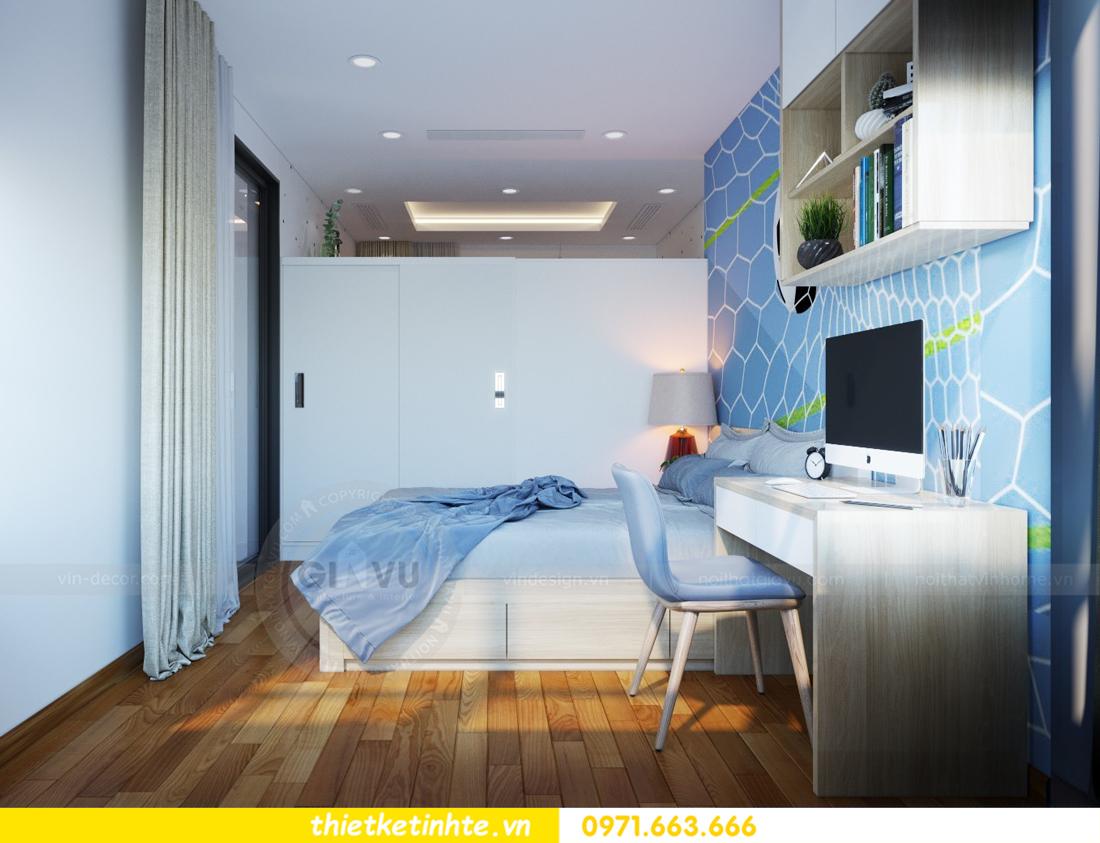 thiết kế nội thất chung cư Mandarin Garden căn hộ số 13 nhà anh Kiên 11