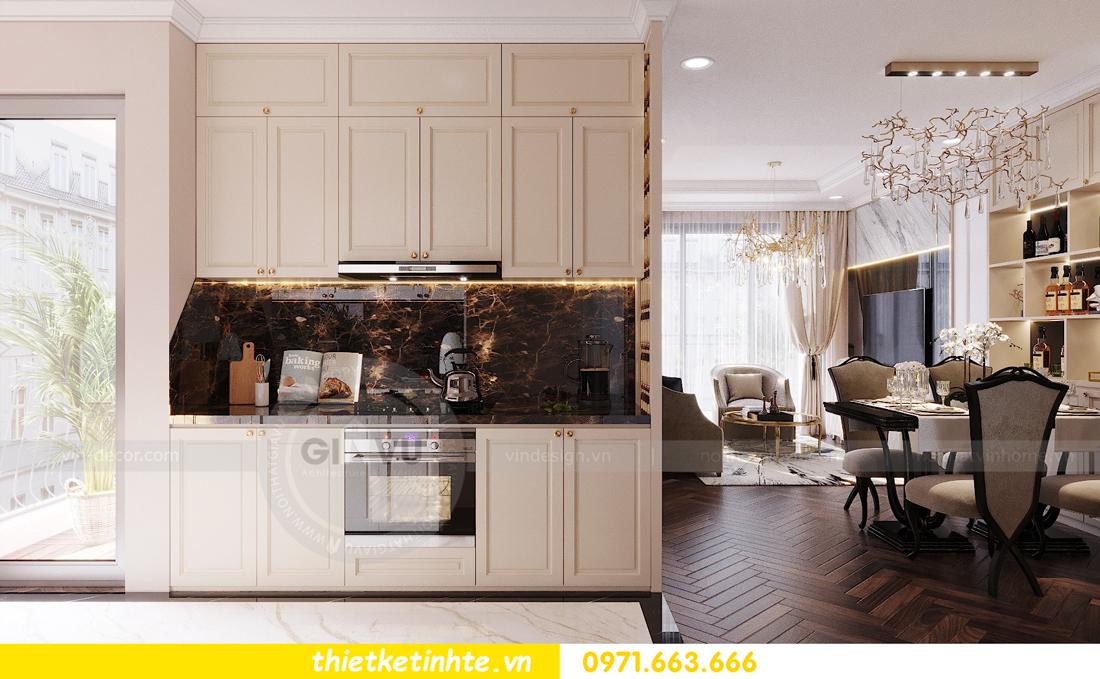 thiết kế nội thất chung cư Vinhomes D'Capitale căn hộ 07 03