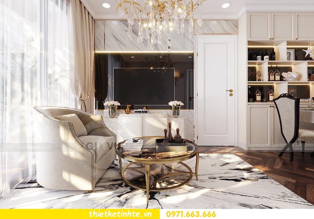 thiết kế nội thất chung cư Vinhomes D'Capitale căn hộ 07 07