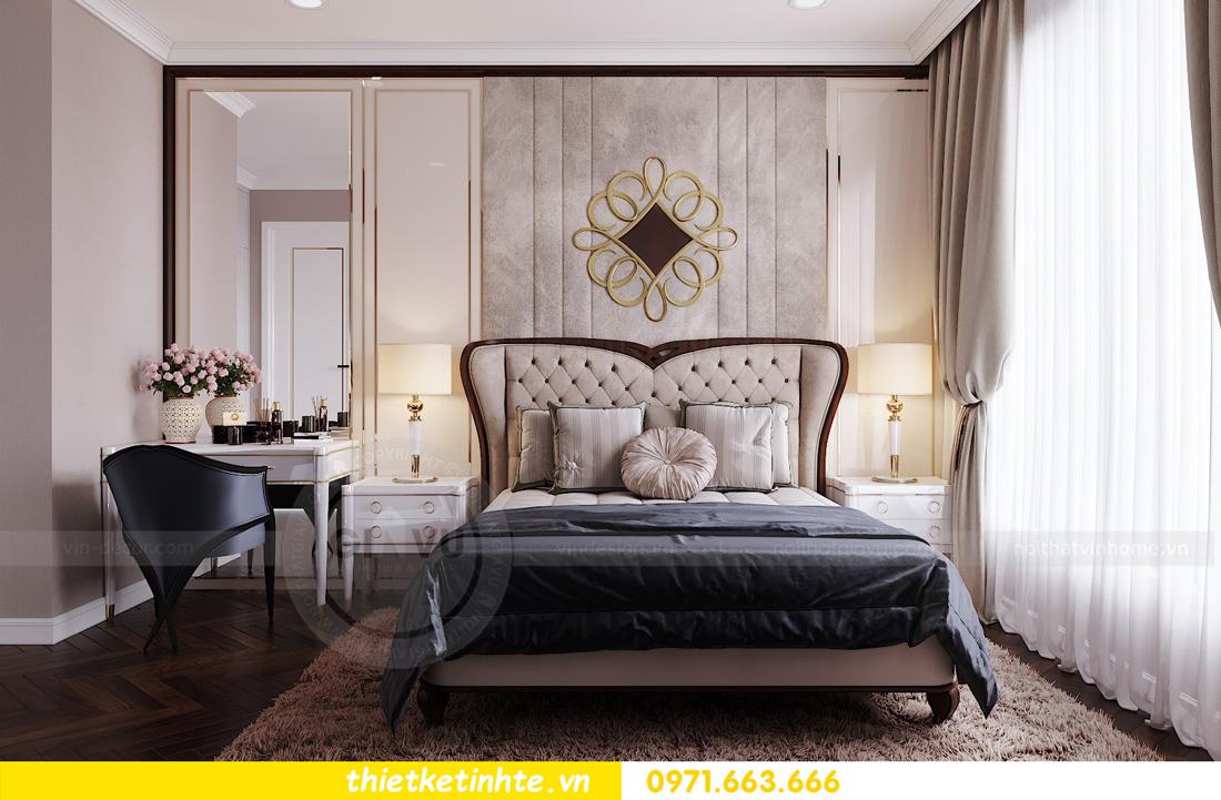 thiết kế nội thất chung cư Vinhomes D'Capitale căn hộ 07 09