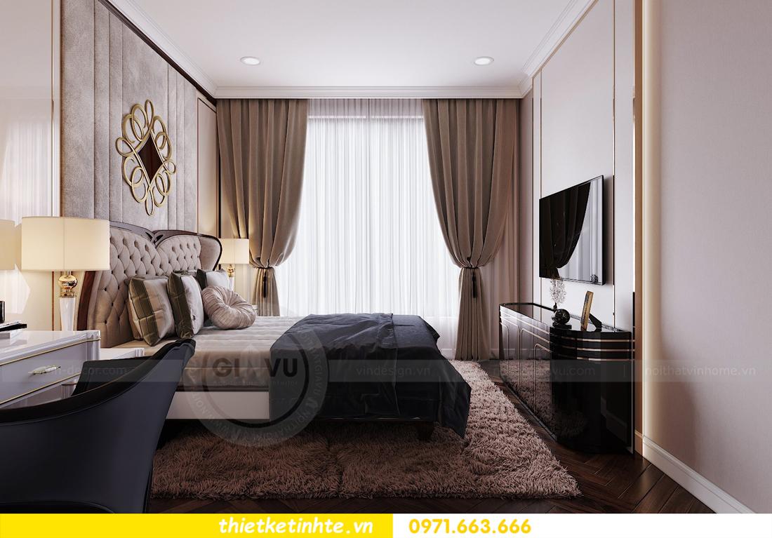 thiết kế nội thất chung cư Vinhomes D'Capitale căn hộ 07 10