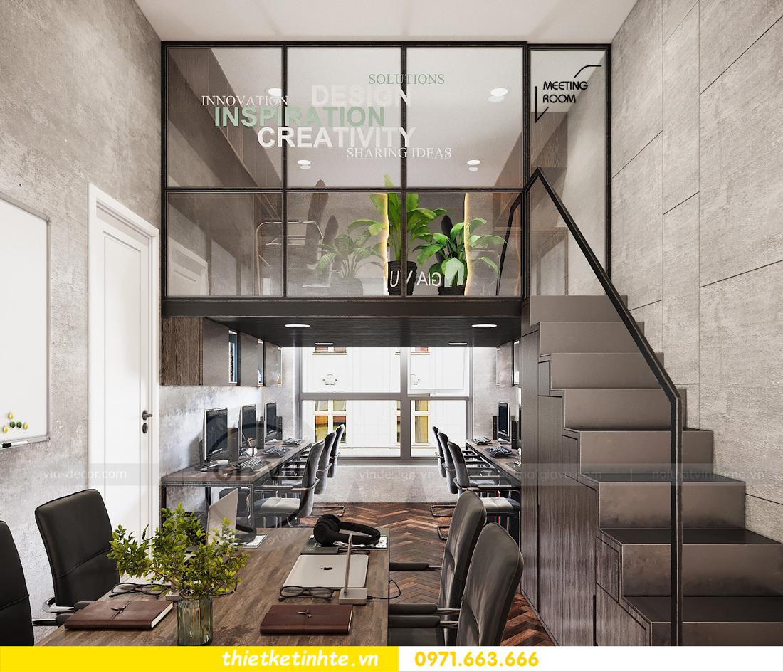 thiết kế nội thất chung cư Vinhomes D'Capitale căn hộ 07 11