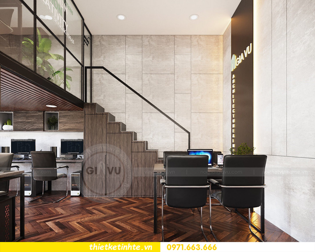 thiết kế nội thất chung cư Vinhomes D'Capitale căn hộ 07 12