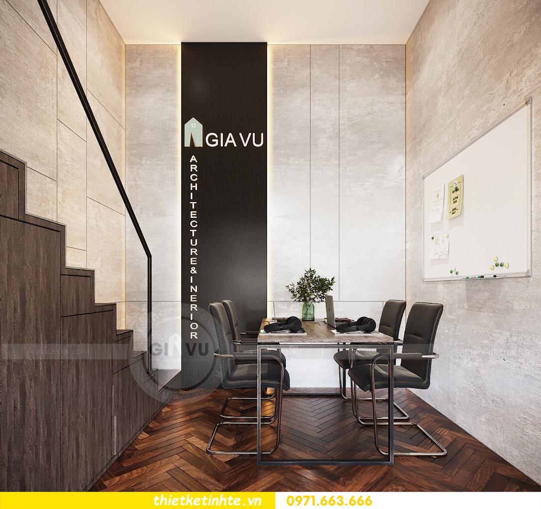 thiết kế nội thất chung cư Vinhomes D'Capitale căn hộ 07 13