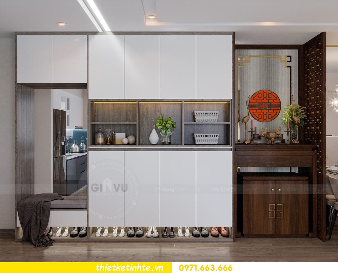 thiết kế nội thất Vinhomes Metropolis tòa M1 căn 01 nhà chị Trang 01