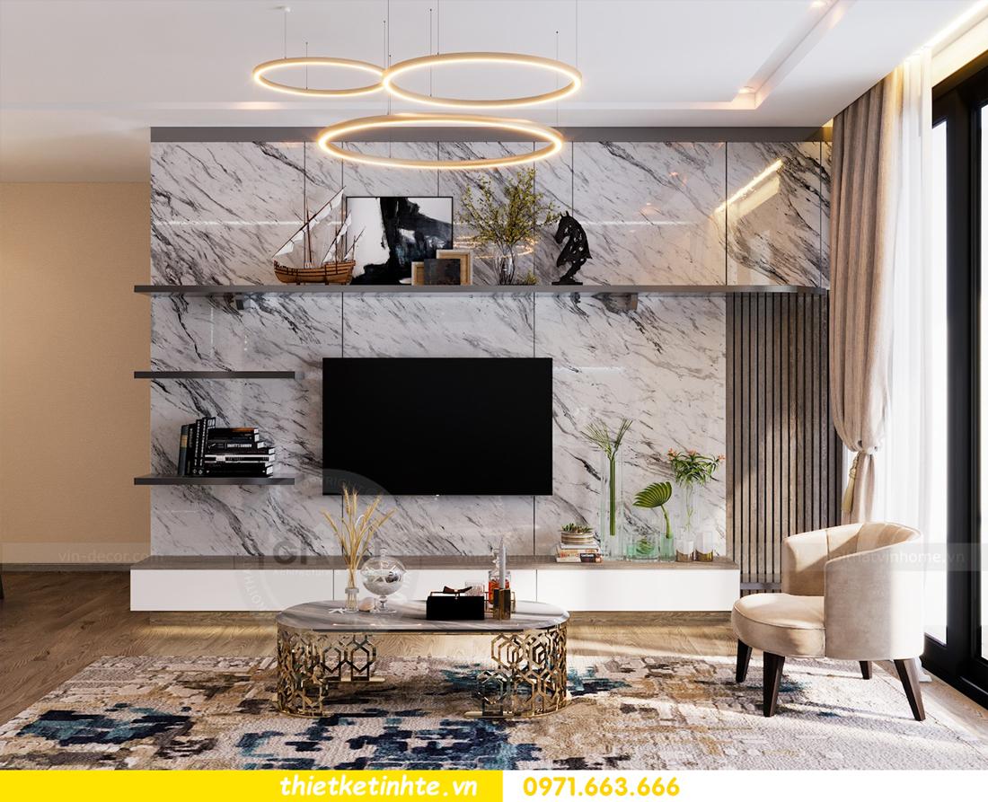thiết kế nội thất Vinhomes Metropolis tòa M1 căn 01 nhà chị Trang 03