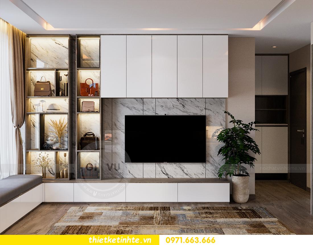 thiết kế nội thất Vinhomes Metropolis tòa M1 căn 01 nhà chị Trang 04