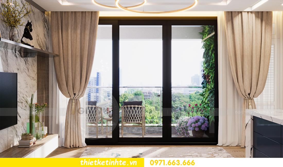 thiết kế nội thất Vinhomes Metropolis tòa M1 căn 01 nhà chị Trang 05