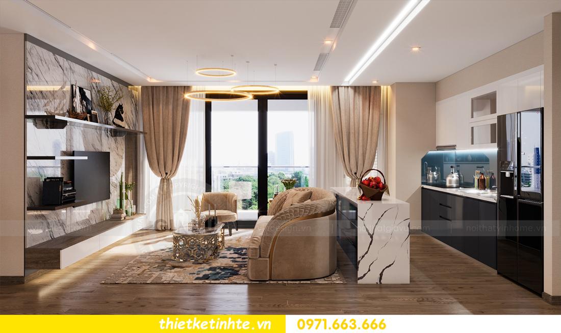 thiết kế nội thất Vinhomes Metropolis tòa M1 căn 01 nhà chị Trang 07