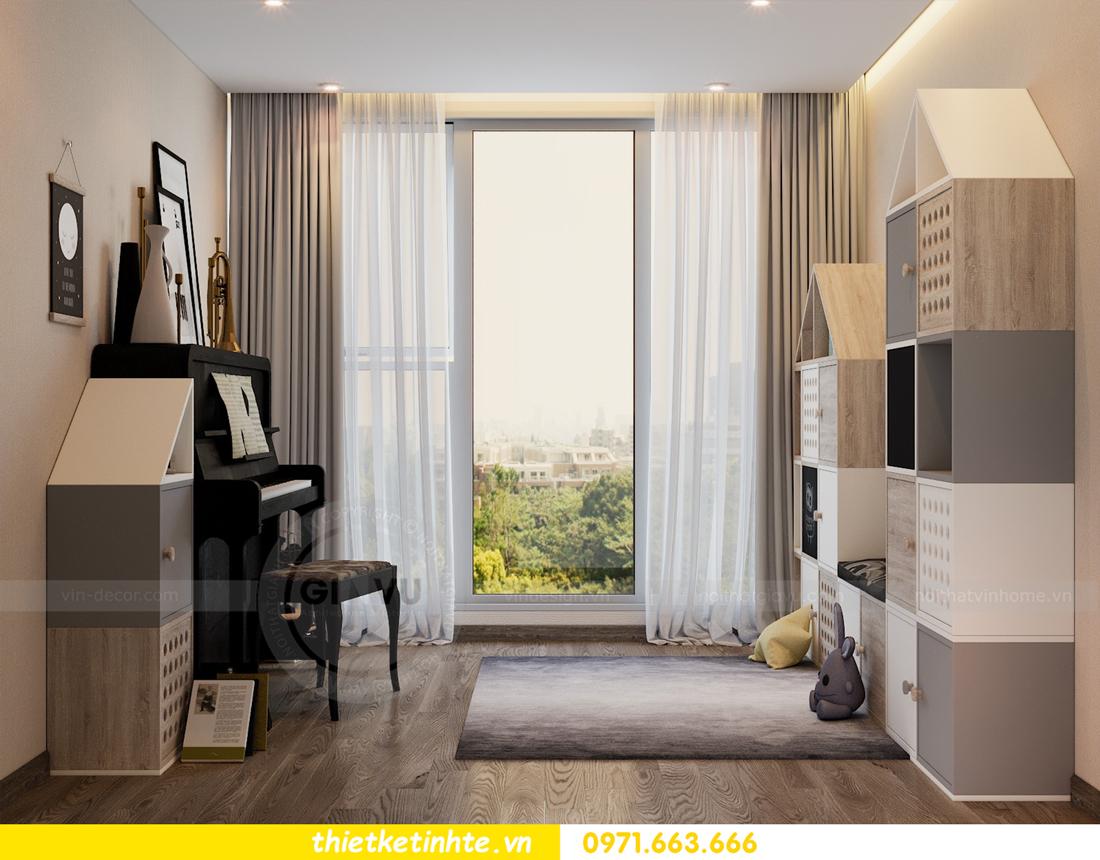 thiết kế nội thất Vinhomes Metropolis tòa M1 căn 01 nhà chị Trang 11