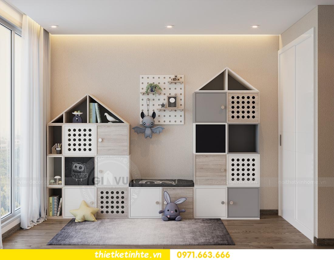 thiết kế nội thất Vinhomes Metropolis tòa M1 căn 01 nhà chị Trang 12