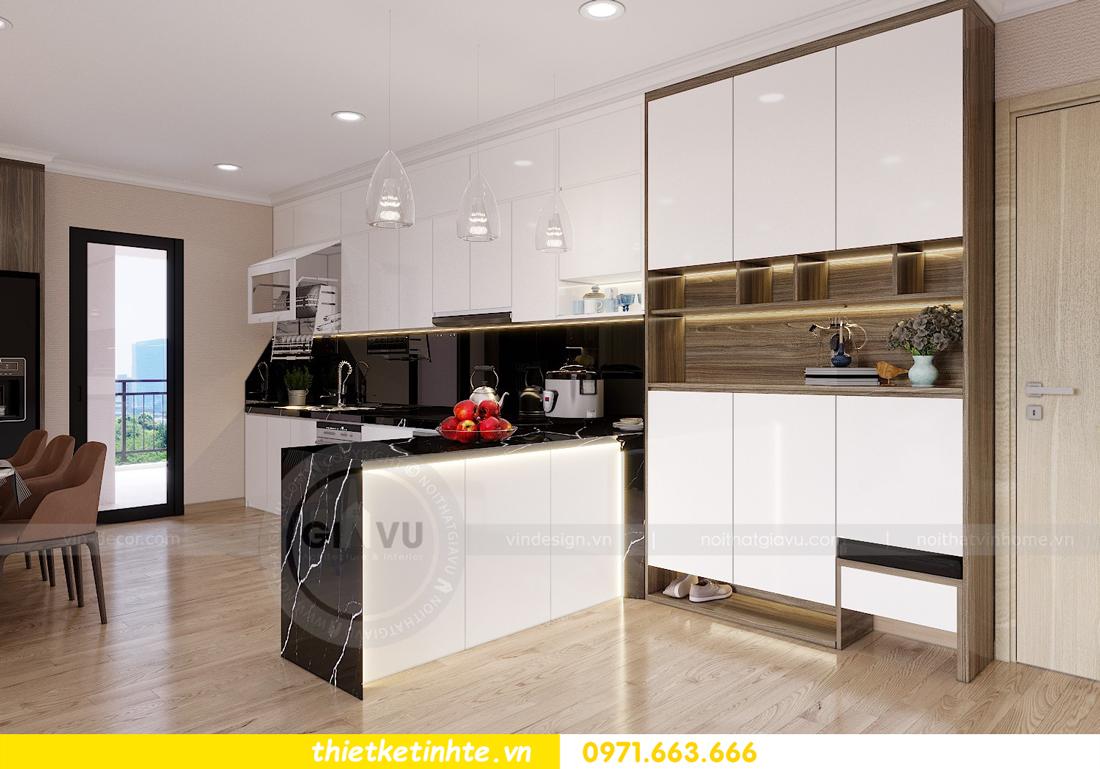 thiết kế nội thất căn hộ Vinhomes Gardenia tòa A2 căn 12b 01