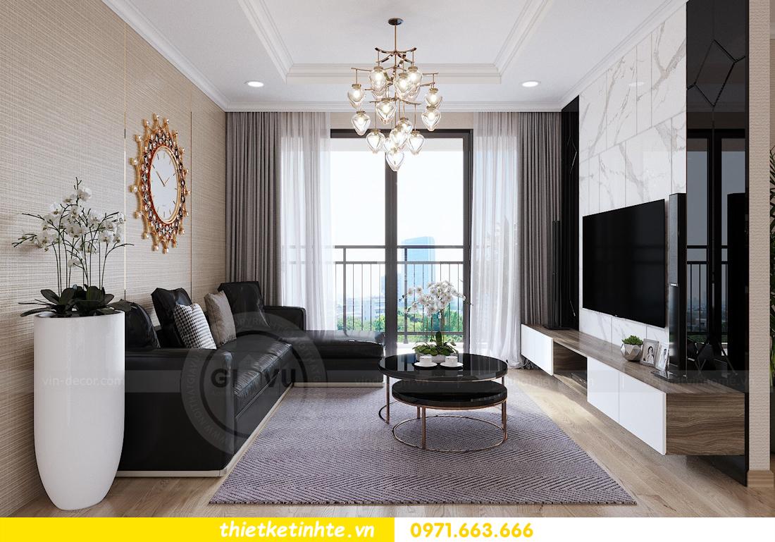 thiết kế nội thất căn hộ Vinhomes Gardenia tòa A2 căn 12b 05