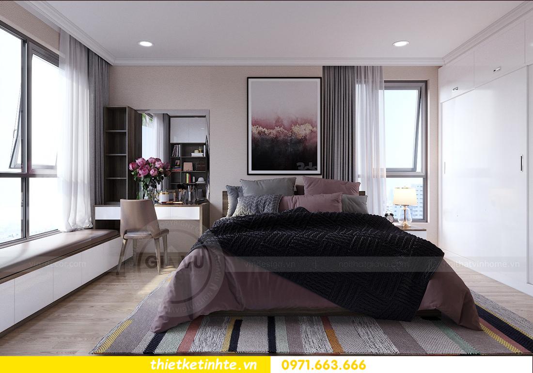 thiết kế nội thất căn hộ Vinhomes Gardenia tòa A2 căn 12b 06