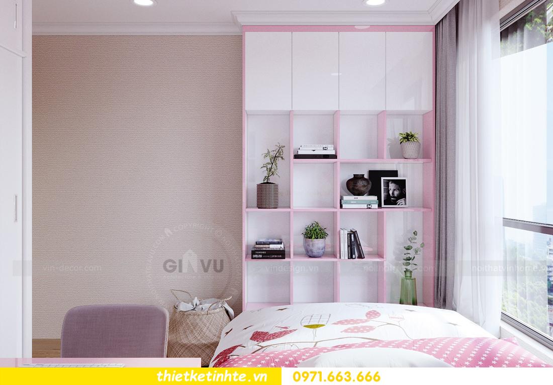 thiết kế nội thất căn hộ Vinhomes Gardenia tòa A2 căn 12b 09