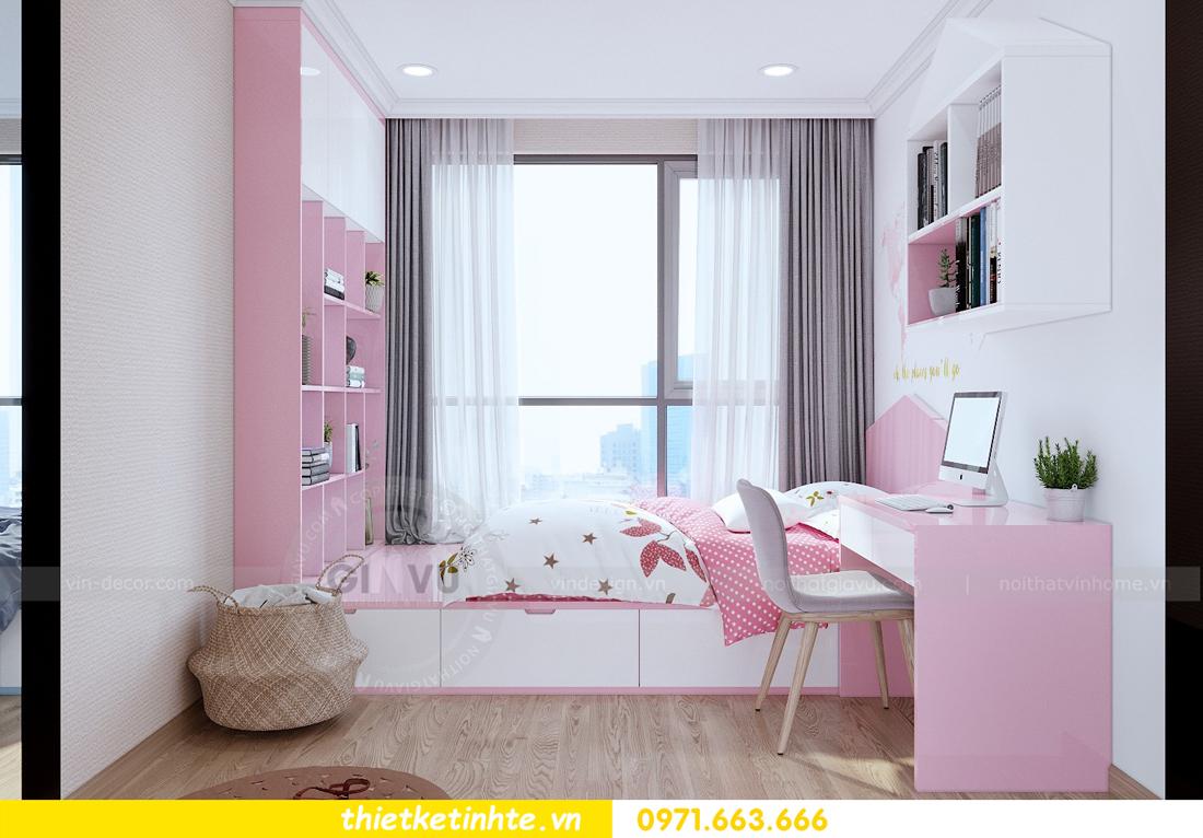thiết kế nội thất căn hộ Vinhomes Gardenia tòa A2 căn 12b 10