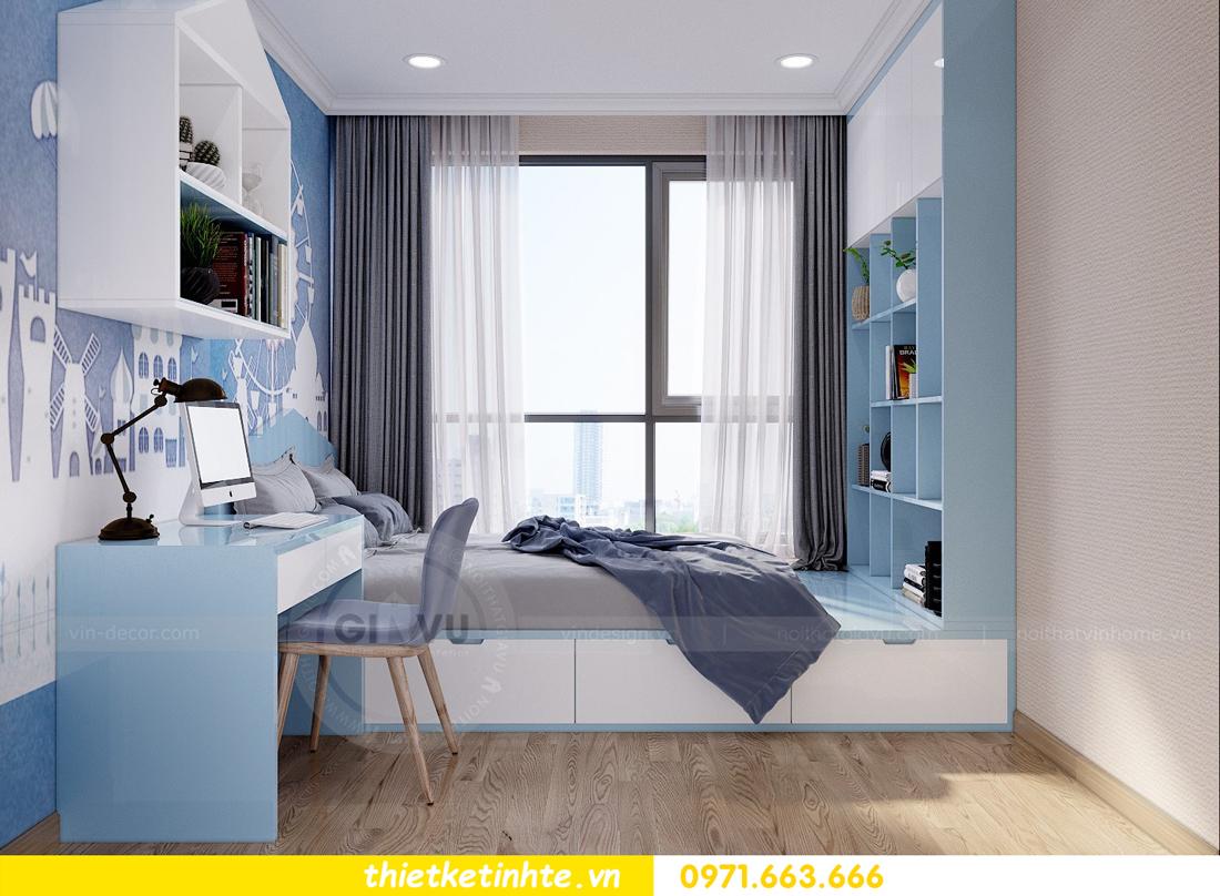 thiết kế nội thất căn hộ Vinhomes Gardenia tòa A2 căn 12b 11