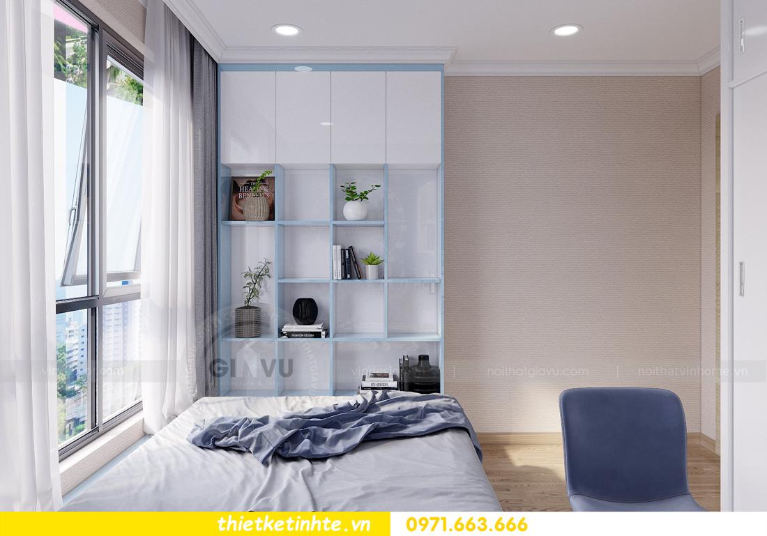thiết kế nội thất căn hộ Vinhomes Gardenia tòa A2 căn 12b 12