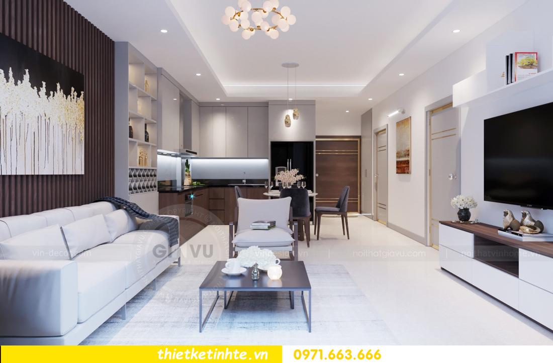 thiết kế nội thất chung cư 69B Thụy Khuê tòa S2 - 1105 anh Thanh 03